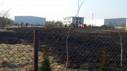 Interwencja pożar trawy regulska zd1